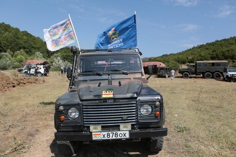 Джип-триал, посвященный Дню признания независимости Южной Осетии Российской Федерацией