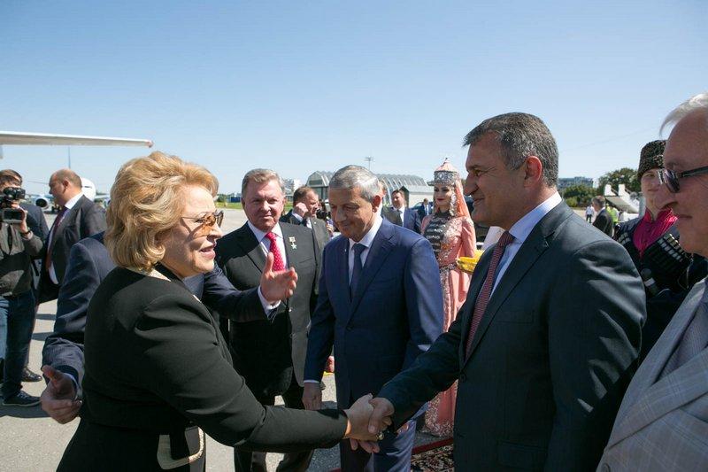 Празднование 460-летия единения народов Кабардино-Балкарии и России