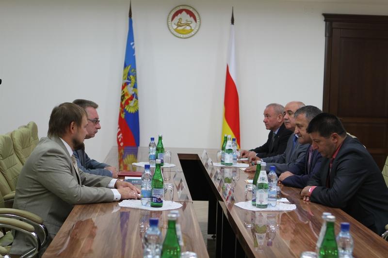 Встреча с делегацией Луганской Народной Республики