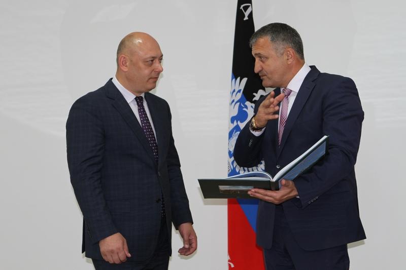Встреча с и.о. Министра транспорта Донецкой Народной Республики Игорем Андриенко