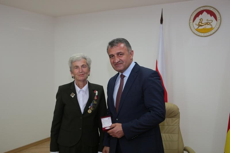 Встреча с делегацией инвалидов войны в Республике Абхазия