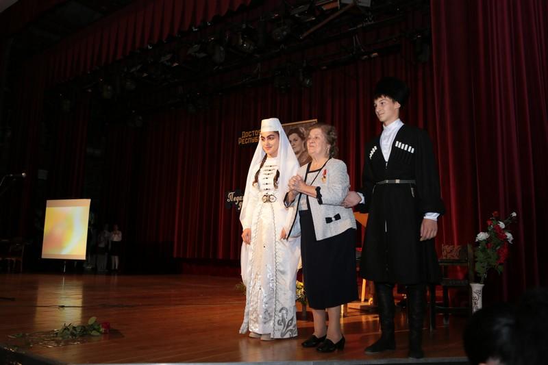 70-летний юбилей профессиональной деятельности Народного учителя Республики Южная Осетия Марии Джиоевой