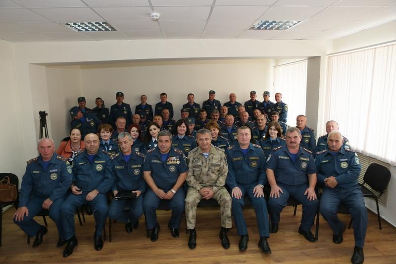 9-летие образования Министерства по делам гражданской обороны, чрезвычайным ситуациям и ликвидации последствий стихийных бедствий