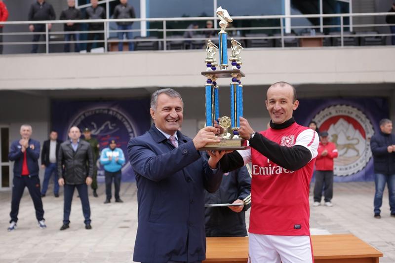 Финал республиканского турнира по мини-футболу на Кубок Президента Южной Осетии
