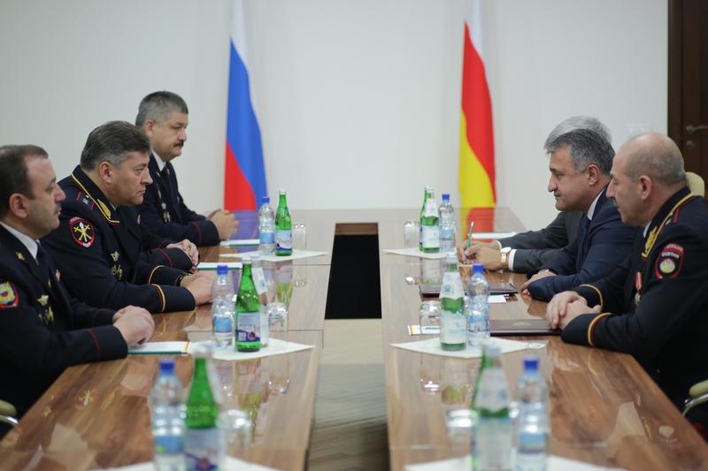 Встреча с Министром внутренних дел РСО-Алания Михаилом Скоковым