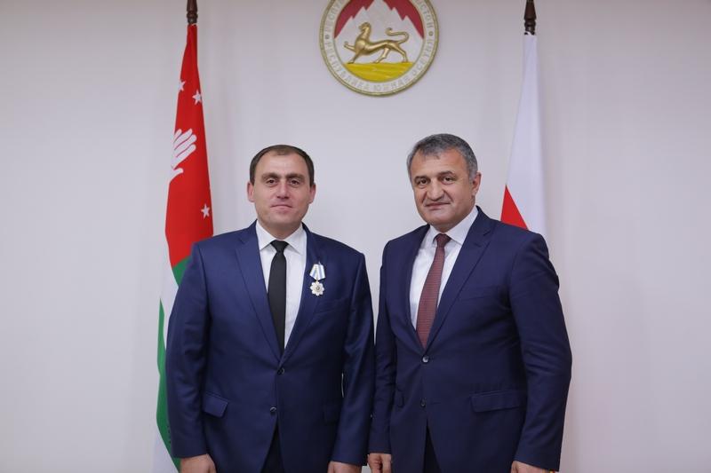 Встреча с делегацией Абхазии