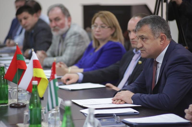 Анатолий Бибилов принял участие в работе VIII заседания Межпарламентской Ассамблеи государств – участников Сообщества «За демократию и права народов»