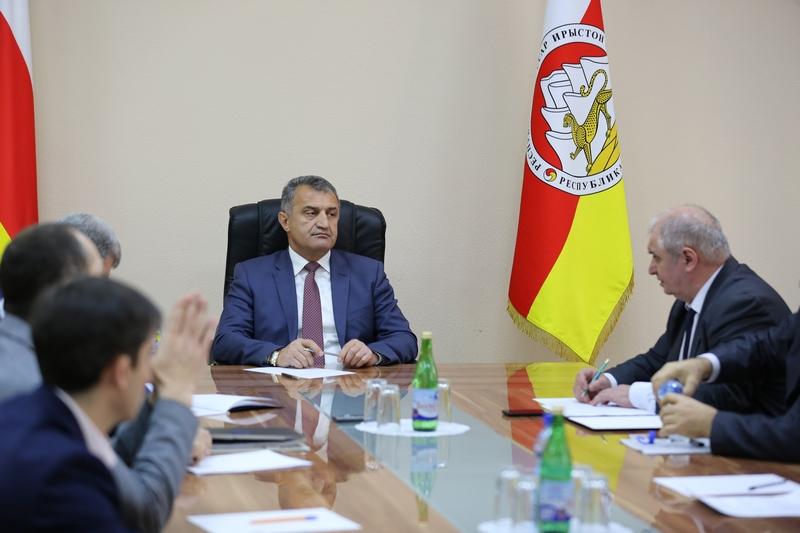 Совещание по вопросам социально-экономического развития Южной Осетии