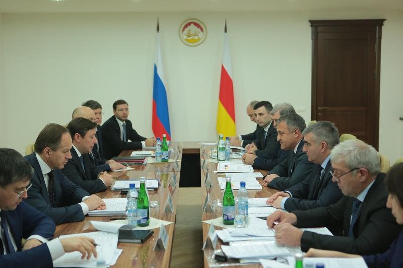 Совещание с членами Межправительственной комиссии