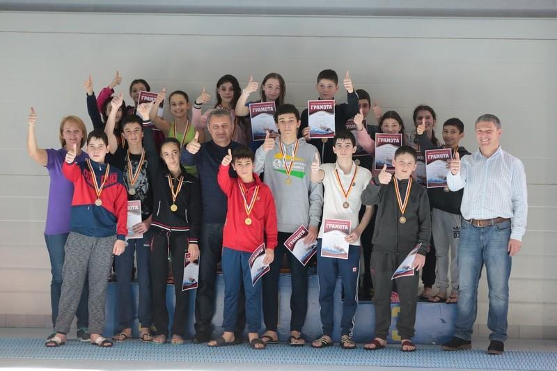 Соревнования по плаванию «День спринта»