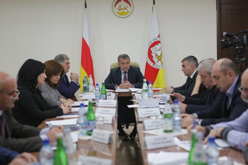 Совещание по ходу реализации Инвестиционной программы содействия социально-экономическому развитию Республики Южная Осетия