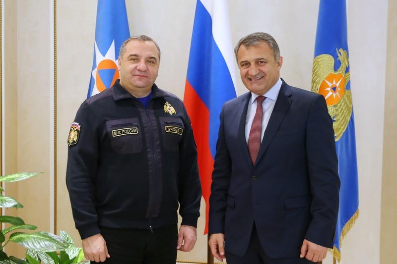 Встреча с главой МЧС Российской Федерации Владимиром Пучковым