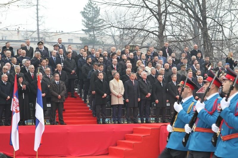 Военный парад в честь празднования 26-летия Республики Сербской