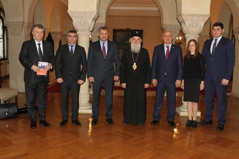 Встреча с Патриархом Сербским Иринеем