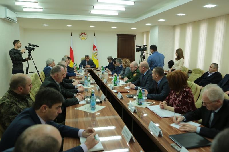 Совещание по вопросам подготовки к выборам Президента Российской Федерации