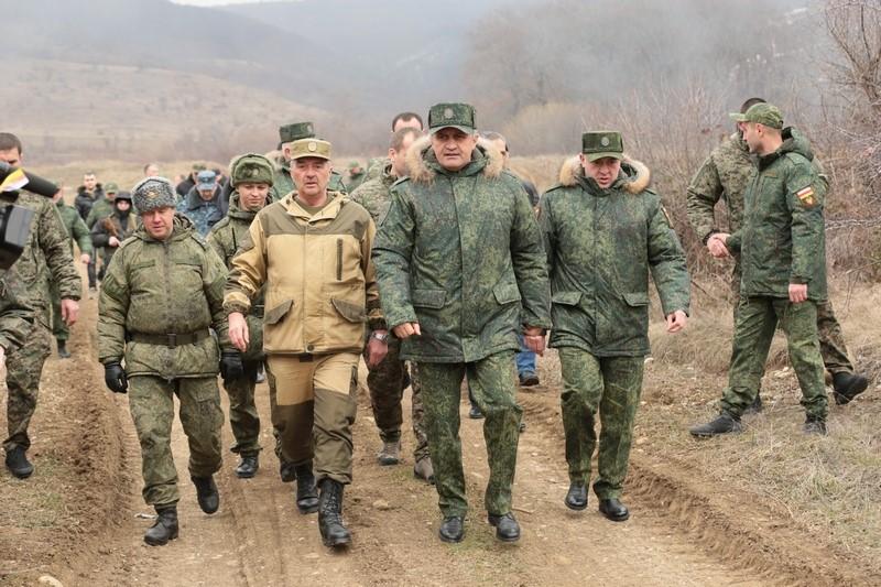 Боевые учения подразделений Министерства обороны