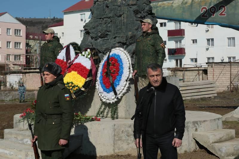 Анатолий Бибилов: «Подрастающее поколение должно воспитываться на примере мужества героев, воевавших в Афганистане и в Южной Осетии»