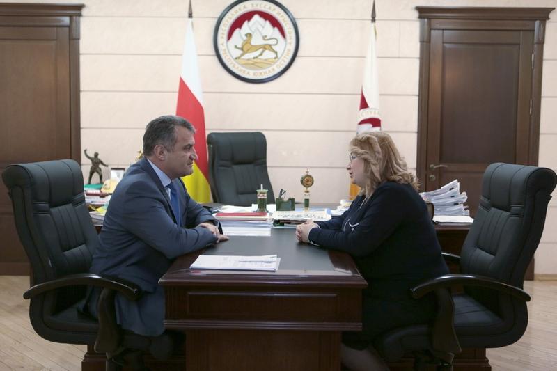 Встреча с Председателем Верховного суда Олесей Кочиевой