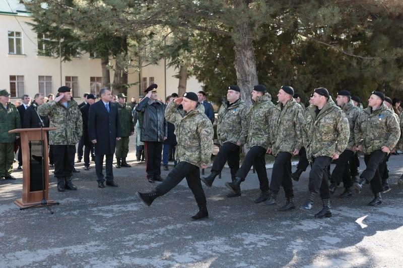26-я годовщина образования ОМОН МВД Республики Южная Осетия
