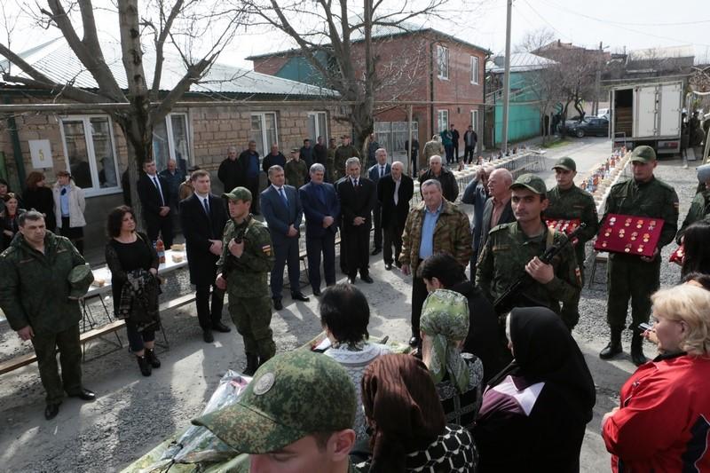 Южная Осетия простилась с ветераном ВОВ Тамарой Алборовой