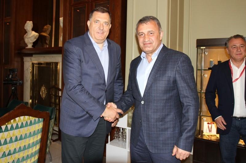 Встреча с Президентом Республики Сербской Милорадом Додиком