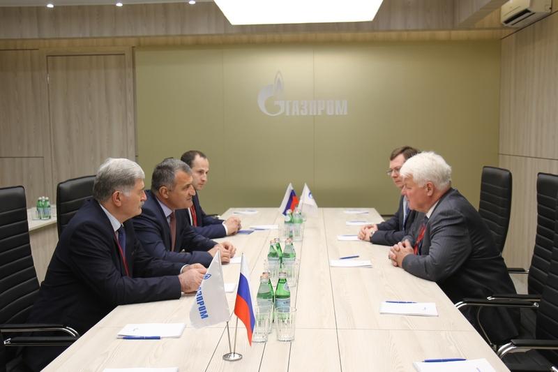 Встреча с заместителем Председателя Правления ПАО «Газпром» Валерием Голубевым
