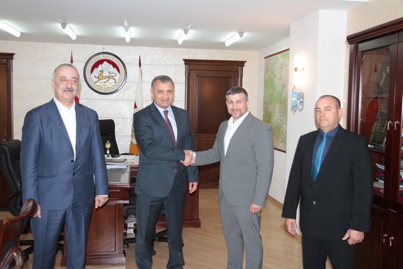Встреча с  Президентом Торгово-промышленной палаты Республики Крым Артемом Мальцевым