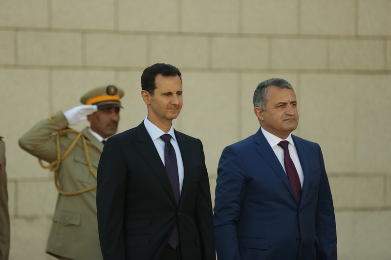 Встреча с Президентом Сирийской Арабской Республики Башаром Асадом