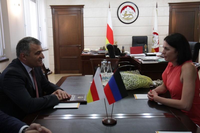 Встреча с Председателем Торгово-промышленной палаты Донецкой Народной Республики Валерией Булыга