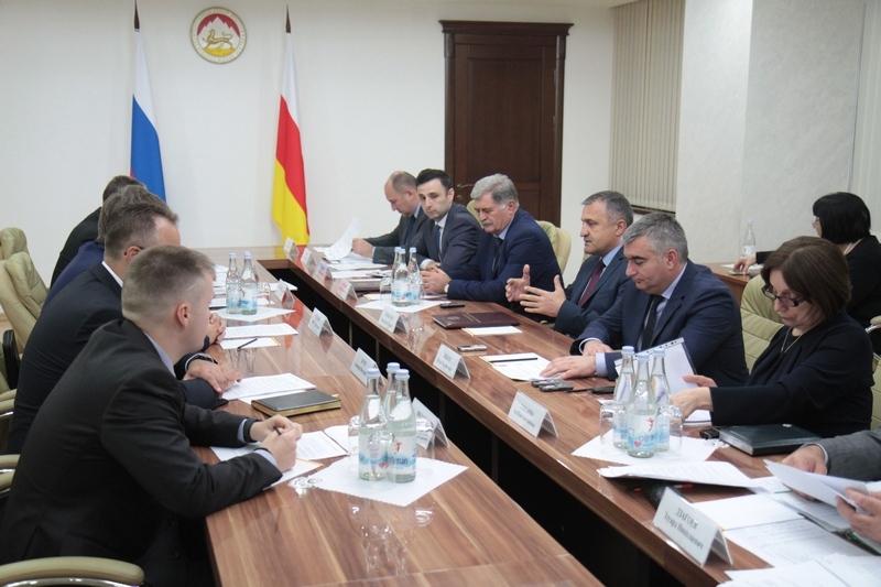 Cовещание по вопросам социально-экономического сотрудничества между Республикой Южная Осетия и Российской Федерацией