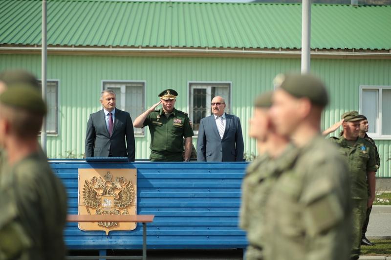 Анатолий Бибилов: «4-я российская военная база – неотъемлемая часть безопасности Республики Южная Осетия»