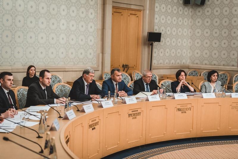 Заседание МПК по социально-экономическому сотрудничеству между Республикой Южная Осетия и Российской Федерацией
