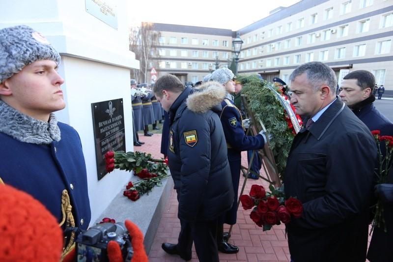 Анатолий Бибилов принимает участие в торжествах по случаю 100-летия РВВДКУ