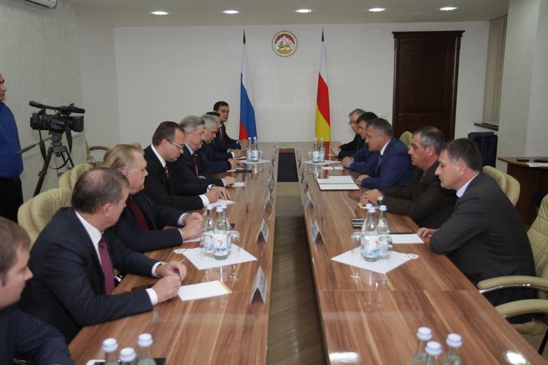 Встреча с делегацией Государственной думы Российской Федерации
