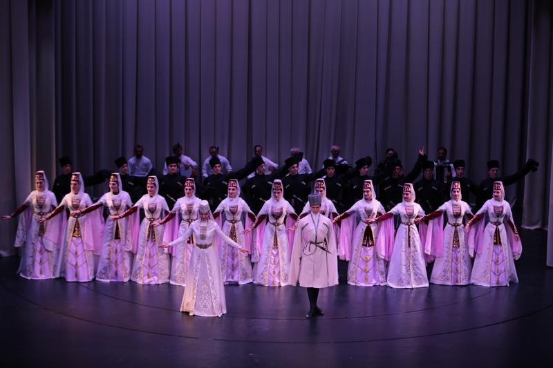 Концерт Государственного ансамбля песни и танца «Симд»