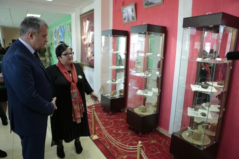 Анатолий Бибилов посетил Цхинвальский многопрофильный колледж