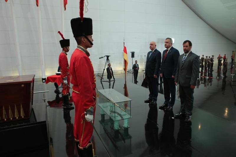 Анатолий Бибилов завершил визит в Венесуэлу