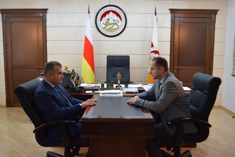 Встреча с заместителем Председателя Правительства – Министром экономического развития Геннадием Бекоевым