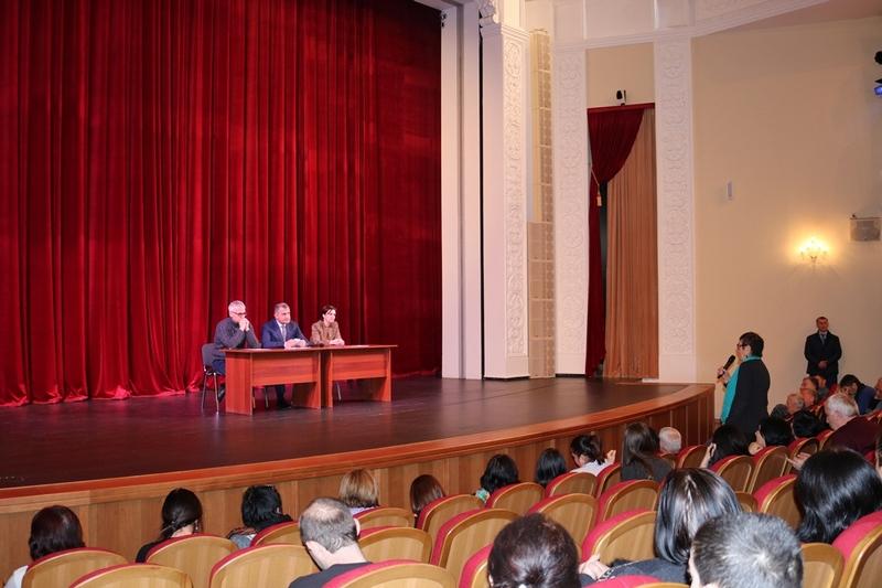 Встреча с коллективом Государственного драматического театра им. Коста Хетагурова