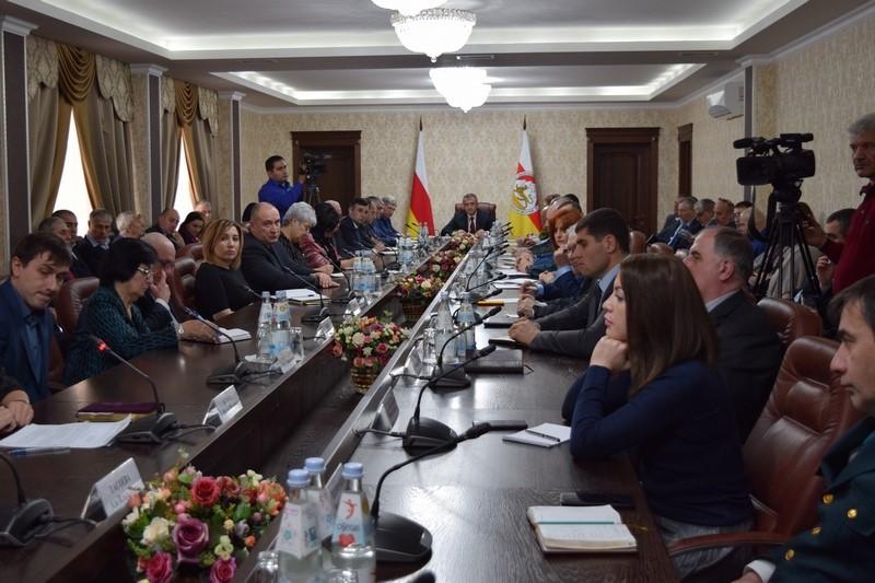 Совещание с руководителями министерств и ведомств